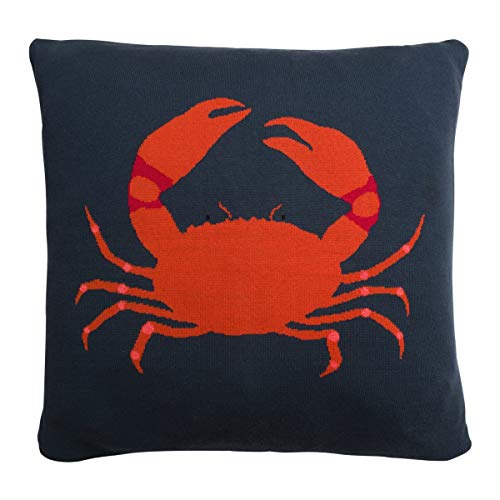 Sophie Allport Crab Knitted Cushion