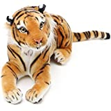 Arrow The Tiger - 17 Inch (Tail Measurement Not Included) Stuffed Animal Plush Cat - by Tiger Tale...