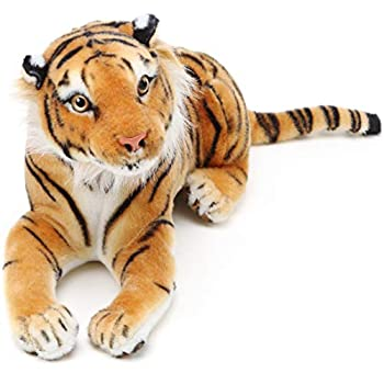 Arrow The Tiger - 17 Inch  Tail Measurement Not Included  Stuffed Animal Plush Cat - by Tiger Tale Toys