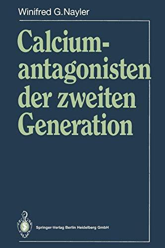 Calciumantagonisten der zweiten Generation (German Edition)