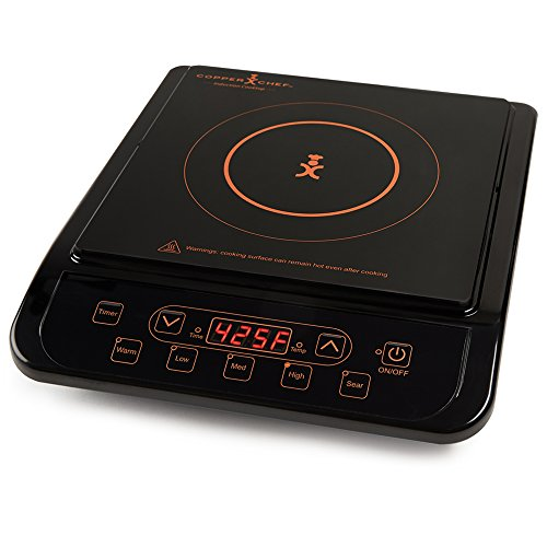 Copper Chef Induction Cooktop (Black)
