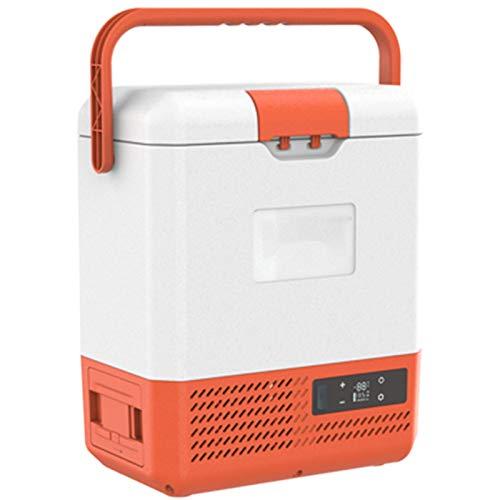 Mini Refrigerador para Automóvil, Congelación Y Refrigeración De Doble Uso para Automóvil Y Hogar, Batería De Litio Enchufable, Congelación Rápida