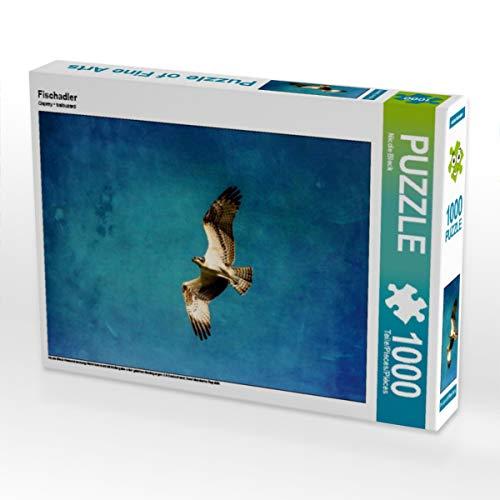 CALVENDO Puzzle Fischadler 1000 Teile Lege-Größe 64 x 48 cm Foto-Puzzle Bild von Nicole Bleck