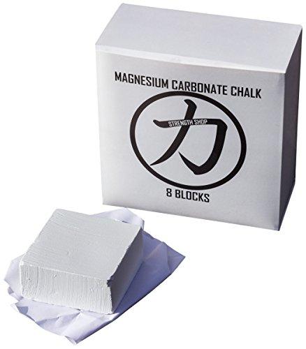 Strength Shop Magnesium Carbonate Chalk - case of 8 blocks
