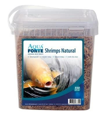 AquaForte sèches de crevettes d'eau Douce 5 l Nourriture pour Poissons, Transparent, 11 x 14 x 32 cm