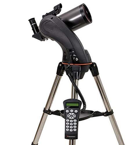 CZZ Automáticamente el Telescopio Encuentra Automáticamente Nexstar 90 Slt Maca de Alta Definición Deep Space Professional Stargazing,UNA,Telescopio