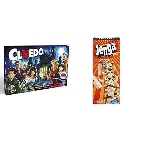 Hasbro Gaming Gaming Clasico Cluedo (Versión Española), Miscelanea (