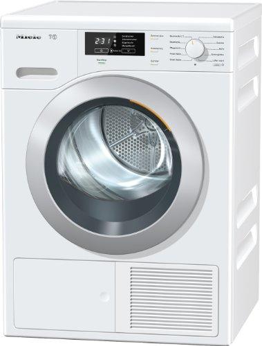 Miele TKB 440 WP - Secadora (Independiente, Frente, Condensación, 8 kg, A, Algodón, Delicado/seda, Jeans/denim, Rápido, Lana) Color blanco