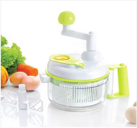 Multi-functional Manual Food Vegetable Chopper Cutter Salad Maker Slicer for Fruit Onion Garlic Coleslaw Kitchen Tools