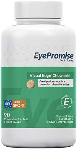 EyePromise vizual San Antonio Mall Edge Chewable - Outlet SALE Month Orange Supply 1 Flavor