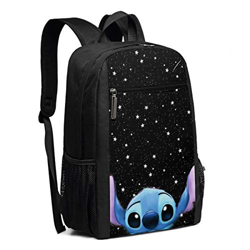Travel Laptop Backpack Space Stitch College School Bookbag Computer Bag Casual Daypack For Women Men