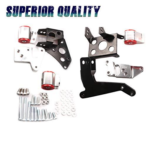 CF Advance Compatible with 96-00 Honda Civic K Series K20 K24 EK Chassis Engine Swap Mount Bracket New 1996 1997 1998 1999 2000
