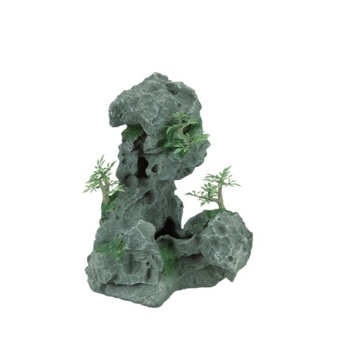 Zilla Granit Höhle mit Blattwerk, mittel
