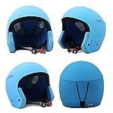 Männliche und weibliche Outdoor-Skihelme, Verschleißfester stoßfester atmungsaktiver und leichter EPS-Schneemobilhelm,Einstellbare Reinigungs Ski Snowboard Helm, Kompatibel mit Skibrillen