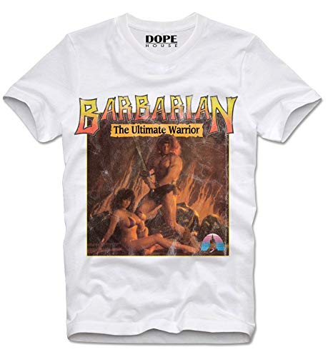 Barbarian The Ultimate Warrior C64 Video Game T-shirt, S to XL