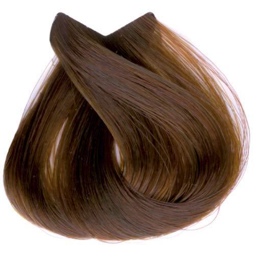 Tahe Organic Care Dauerhafter Farbstoff Haar-Farbe, Nein.7.44 Medium Intense Copper Blonde, 100 ml