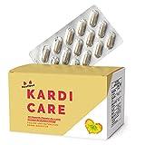 KardiCare® - Die natürliche Alternative mit Knoblauch, Olivenblatt, Q10, usw. | 120 vegane Kapseln | Pflanzenkraft anstatt Chemiekeule | 6 hochwertige und abgestimmte Zutaten | 30-Tage-Paket