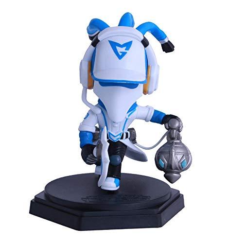 BHNACM LOL Spiel Modell White Skin Talon Thresh Action-Figur Zeichentrickfigur Modell-Dekoration Statue B