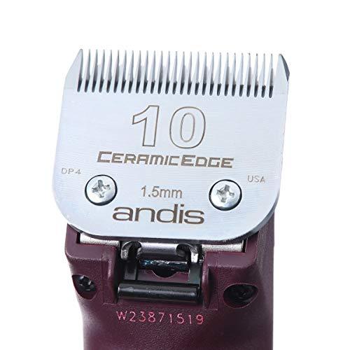 Andis Andis Ultraedge AGC Super 2 Speed Brushless Clipper (AGCB), Burgundy