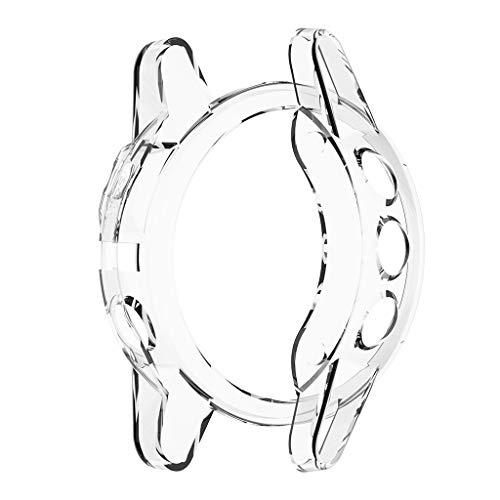 Ronyme para Garmin Fenix 5S Soft Silicone Protetor de Tela Capa para Relógio Inteligente - Branco