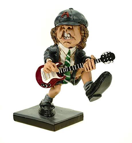 Joh. Vogler GmbH Funny Live Rockstar Angus by Warren Stratford lustige Figur Skulptur Karikatur