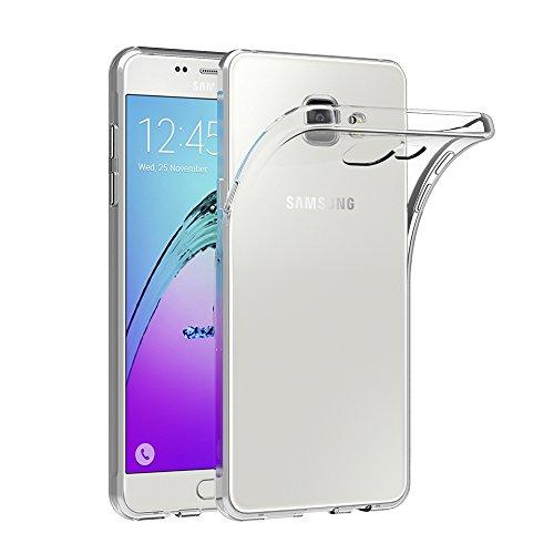 AICEK Samsung Galaxy A5 2016 Hülle Case, Galaxy A5 2016 Case Silikon Soft TPU Crystal Clear Premium Durchsichtig Handyhülle Schutzhülle Case Backcover Bumper Slimcase für Galaxy A5