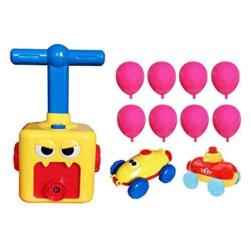 Gowind6 Cartoon-Inertial-Luftballon, Auto, Kind, Bildung, Wissenschaft, Experiment, Spielzeug