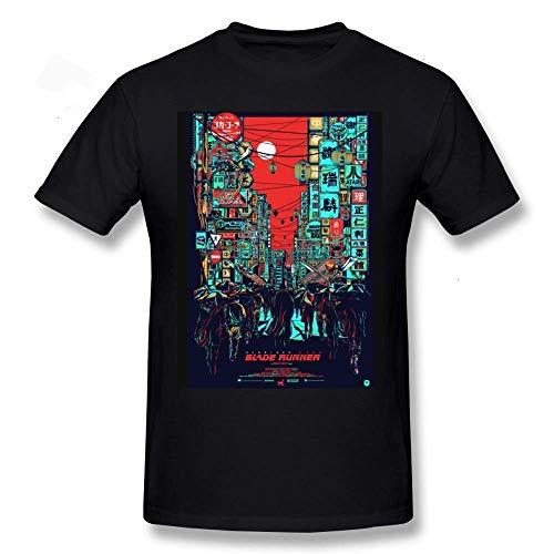 Blade Runner T Shirt Blade Runner T-Shirt Short Sleeve 100% Percent Cotton tee Shirt Man Funny Big Fashion Print Tshirt