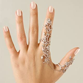 MACHEE 1PC Rings Multiple Finger Stack Knuckle Band...