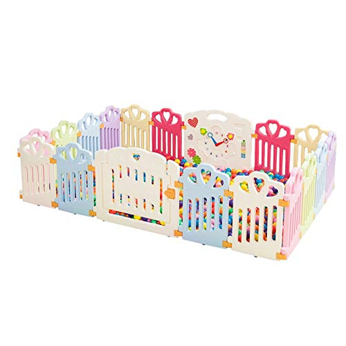 Purchase XXHDEE Baby Fence Indoor Fence Children's Outdoor Playground Baby Crawling Toddler Guardrai...