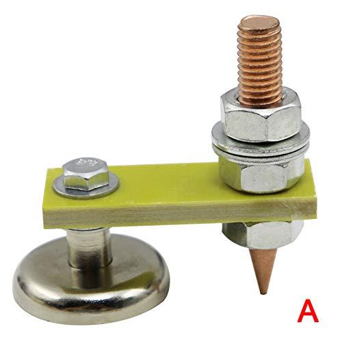 MAyouth Schweißmagnete Leiter Magnetic Erdungsklemme Schweiß Support Zubehör Werkzeug