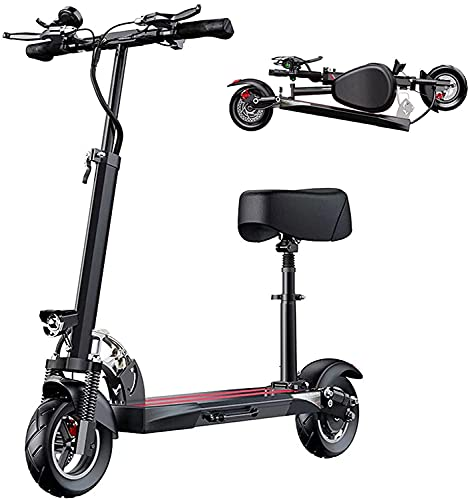 Xiaokang Bicicleta eléctrica Plegable Scooter eléctrico Adulto Mini Scooter,Negro