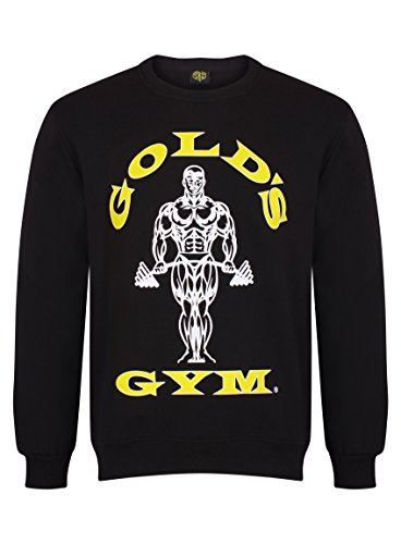 Golds Gym Herren Sweatshirt, schwarz, M