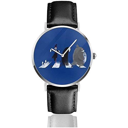 Reloj de Cuero de Cuarzo Ghibli Road Watches con Correa de...