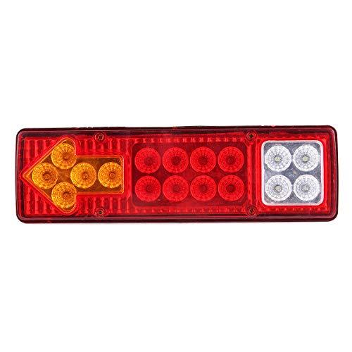 Weilaijaiju Lámpara de señal de Giro Trasera de 12V / 24V 17 LED para camión de Remolque de Coche (Color : 12V)