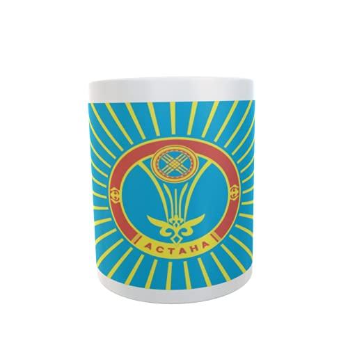 U24 Tasse Kaffeebecher Mug Cup Flagge Astana
