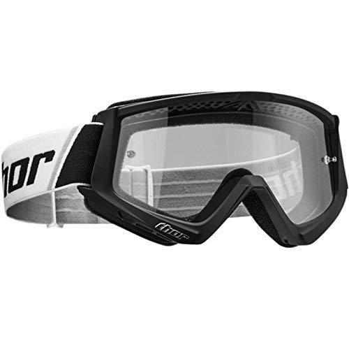 Thor MX Brille Combat - schwarz-Weiss