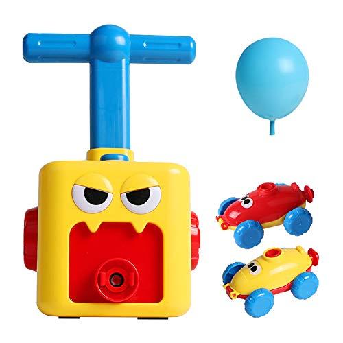 vap26 Juguete de Coche de Globo de energía inercial para niños pequeños Regalos educativos de aerodinámica para niños