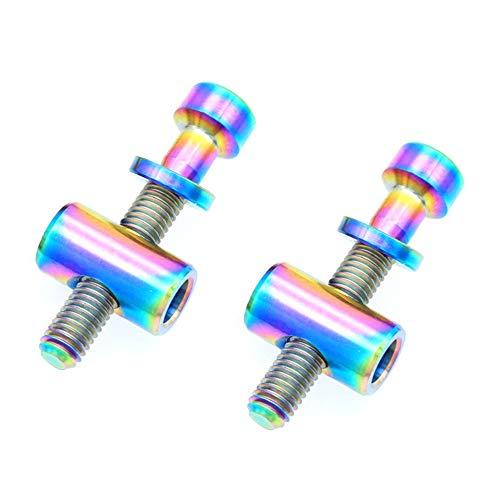 DONGKER 2 tornillos de titanio de 30/35/40 mm, tornillos de