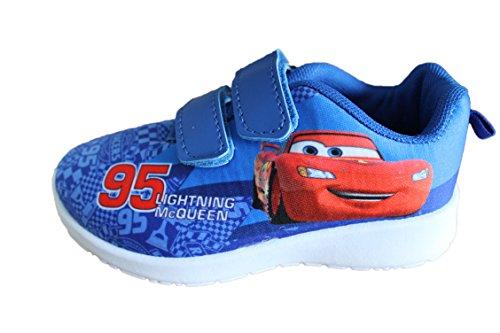 Disney-Baskets Cars à Scratch-Bleue-garçon (30)