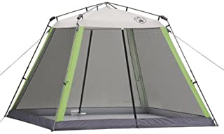 Coleman 10'x10' Instant Outdoor Back Home Camping Canopy Screen Room House