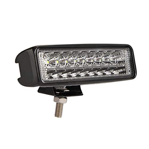Usuario 6 pulgadas 60W LED trabajo luz bar doble conducción faro proyector niebla carretera lámpara