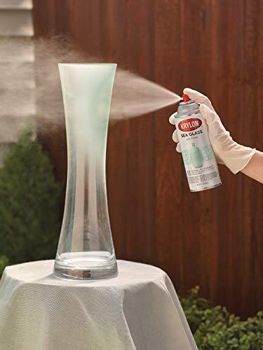 Krylon K09057007 Sea Glass Spray Paint, Aqua, 12 Ounce