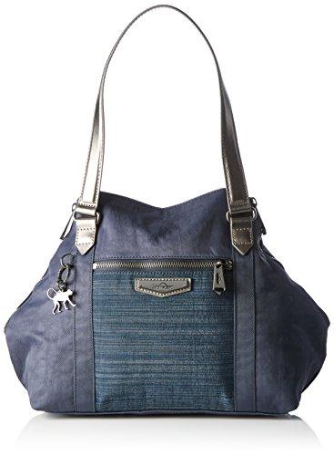 Kipling - Art S, Bolso Mujer, Blau (Eclipse Blue Bl), One Size