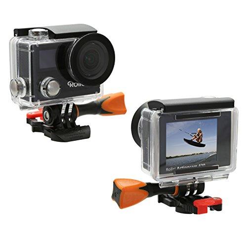 Rollei Actioncam 430 – Leistungsstarker WiFi Camcorder mit 4K, 2K, Full HD – Schwarz - 12