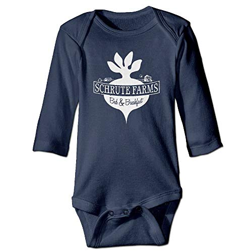 SDGSS Babybekleidung Bodysuits Schrute Farms Beets Funny Baby Bodysuit Clothes for Boys and Girls Newborn Baby