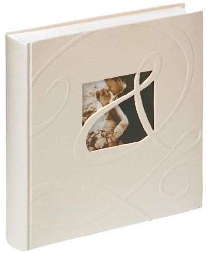 Walther, Album per le Nozze, Ti Amo, UH-222, 34x33 cm, 100 Pagine Bianche, Bianco