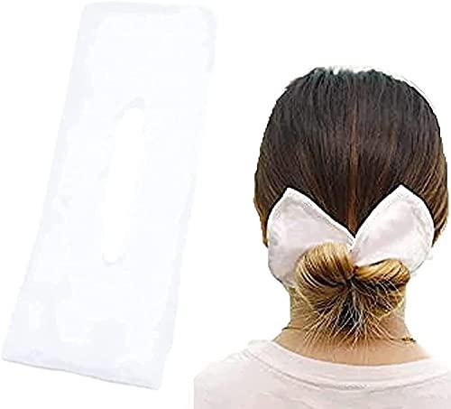 Chagoo Deft Bun Headband Hairpin, Classy Multicolor Cloth Magic Clip, French Twist Hairstyle Donut Bun Former Maker Hairstyle Must-Haves Tool (B)