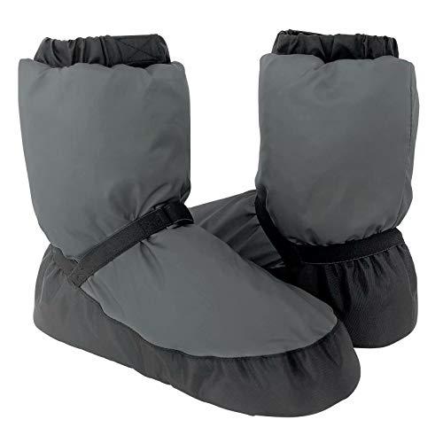 s.lemon Botas Bootie Calentamiento Zapatos de Baile de Ballet (M / 38-40 EU, Gris)