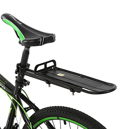 seatpost rack with panniers